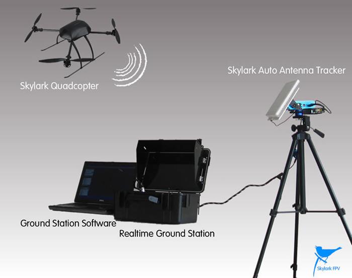 Antena Auto Antenna Tracker Skylark Aat Convert Module