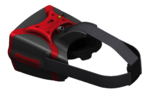 HeadPlay HD FPV Headset w/ 32ch 5.8GHz Receiver In Stock, Red colour