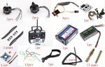 Full electronic equipment set for 250 Quadcopter series