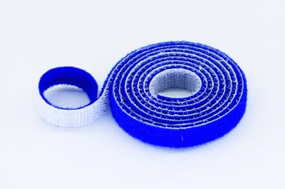 Velcro doble cara 10mm de ancho azul 50 cm stockrc - Velcro doble cara ...