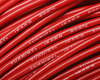 16-AWG - Cable de silicona - 252 * 0,08 - Rojo      - 2 mm.