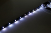 LED Lights Strip W/adhesive backing White 6 leds w/ silicon