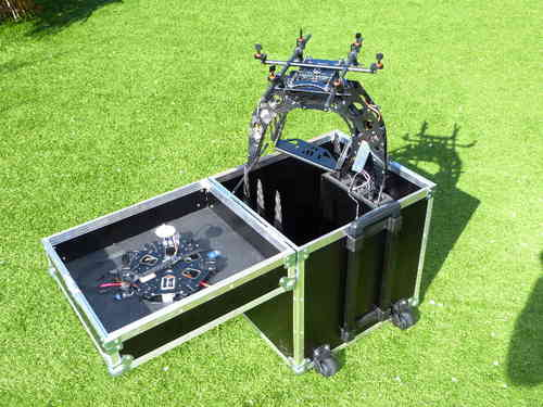 Flight case for S800 DJI