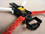 Naza V2 + gps+ FY Locust X4 quad copter with PTZ