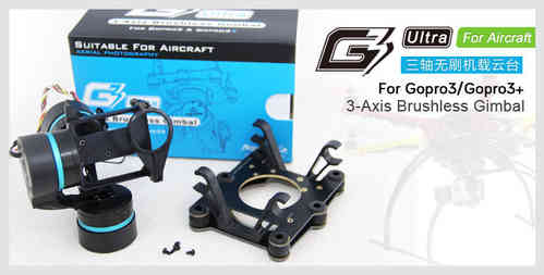 FeiyuTech FY-G3 Ultra 3-Axis Brushless Gimbal For Aircraft
