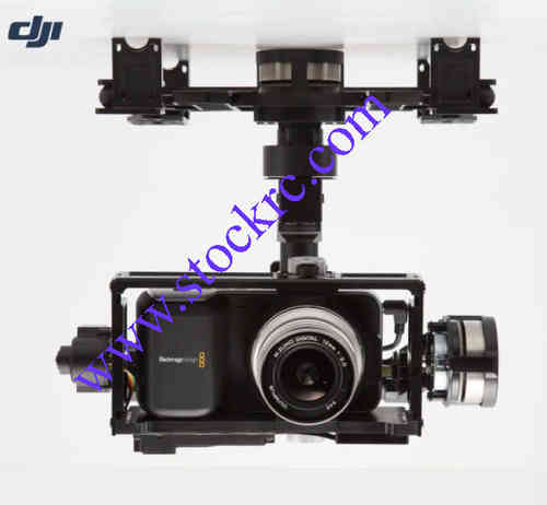 Zenmuse Z15 3-axis Gimbal Profesional for Black Magic Pocket Cinema Camera
