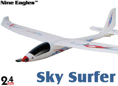 Nine Eagles 781B Sky surfer 4CH 2.4GHz Avion con emisora