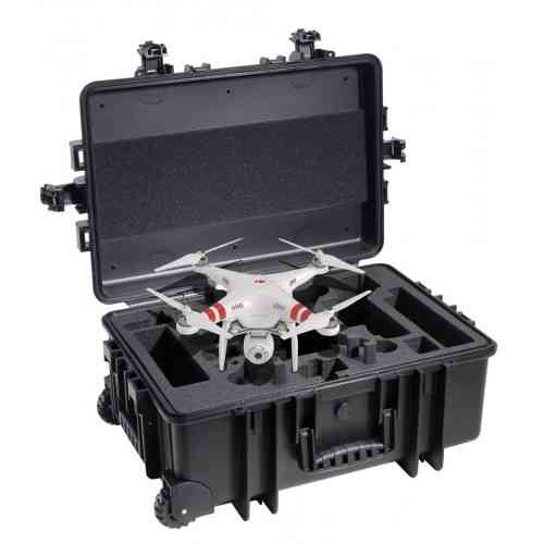 profesional case with wheel for DJI PHANTOM 2 or vision Drone black