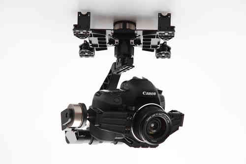 Zenmuse Z15-5D 3 axis Gimbal Profesional for Canon 5D Mark III + DJI Lightbridge Full HD Video Downl