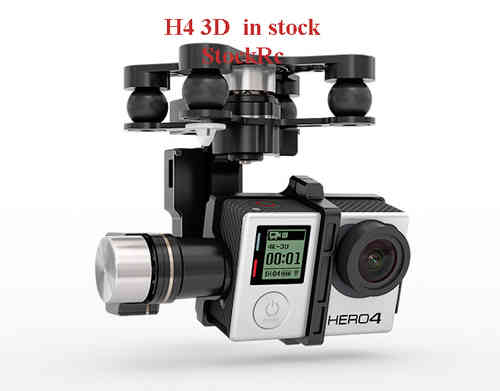 DJI Zenmuse 3 Ejes H4-3D for GoPro 4 only Zenmuse