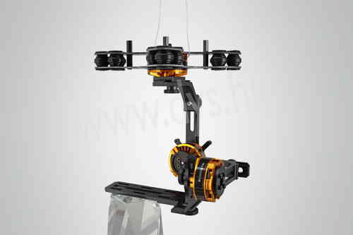 3 Axis Brushless Gimbal For Sony NEX with 3pcs gimbal motors(BGM4108-130) with 3 axis 8bit Basecam c