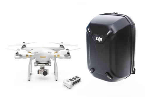 Phantom 3 Professional +Extra battery + Hardshell Backpack Combo