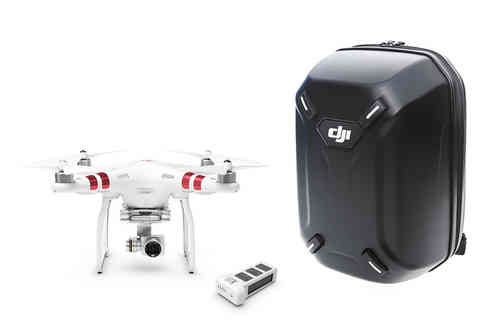 DJI Phantom 3 Estandar 2.7K HD videos and 12 Megapixel  + DJI Backpack + Extra battery