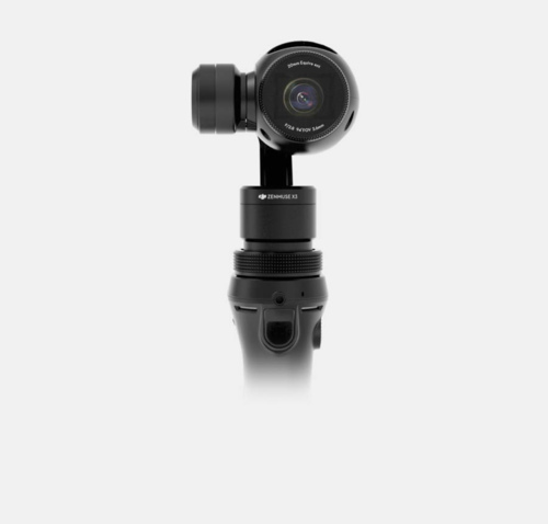 Osmo DJI Fully stabilized 4K, 12Mp camera