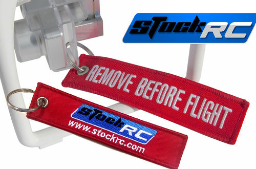 llavero Seguridad Remove Before Flight