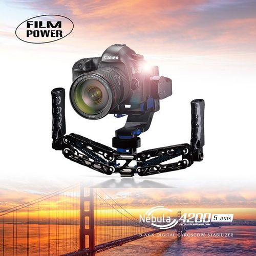 Nebula 4200 5-axis Gyroscope Stabilizer For 5DRS 5D3 5D2 A7S Gimbal