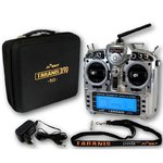 Pupitre + FrSky 2.4GHz ACCST TARANIS X9D PLUS and X8R Combo Digital Telemetry Radio System w/ case