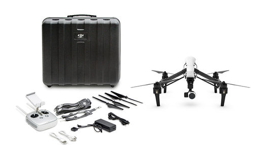 DJI Inspire 1 with V2 (MODELO T601) 1 Remote Controller with case