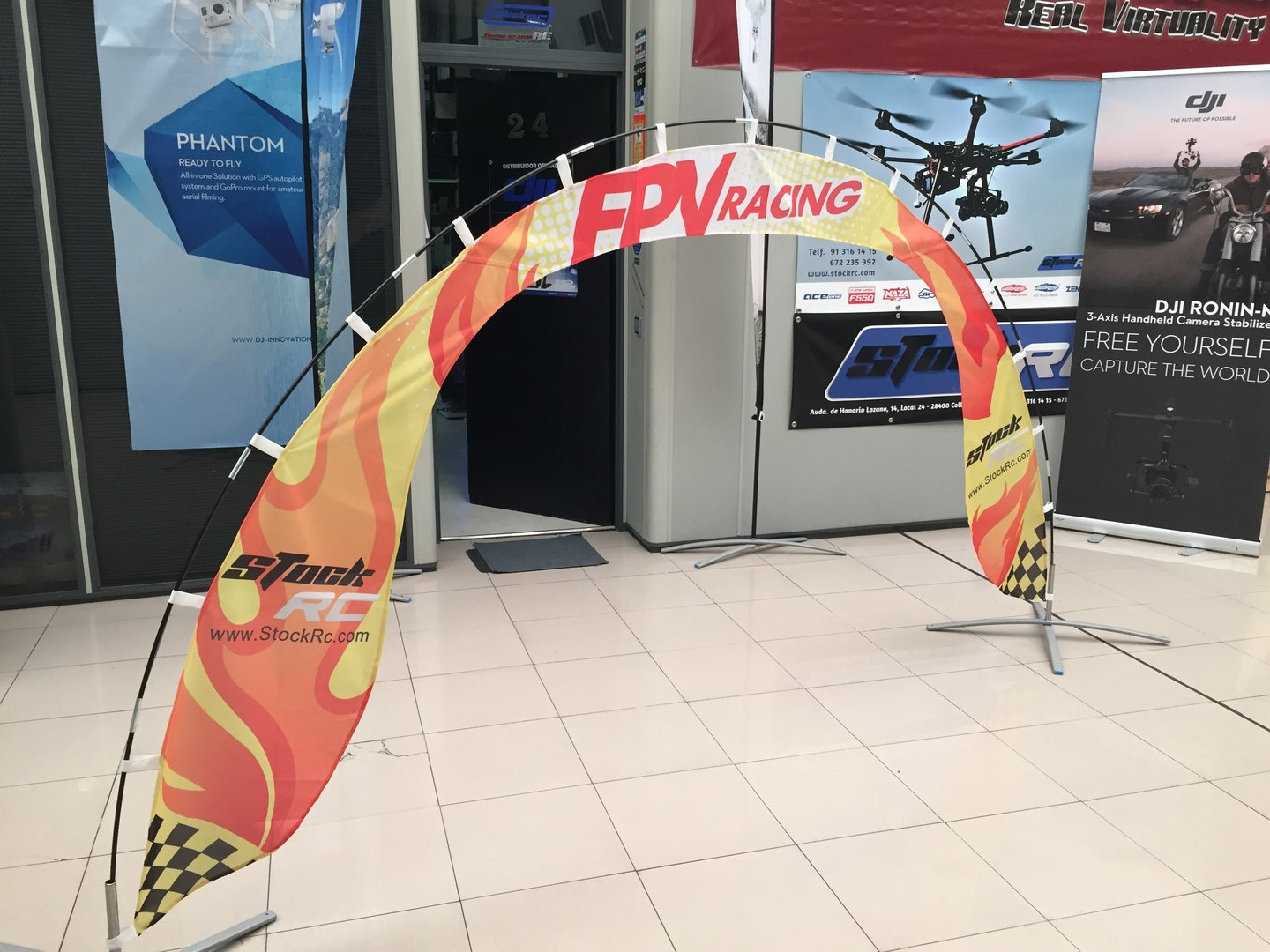 fpv racing air gate dji store madrid amp support center