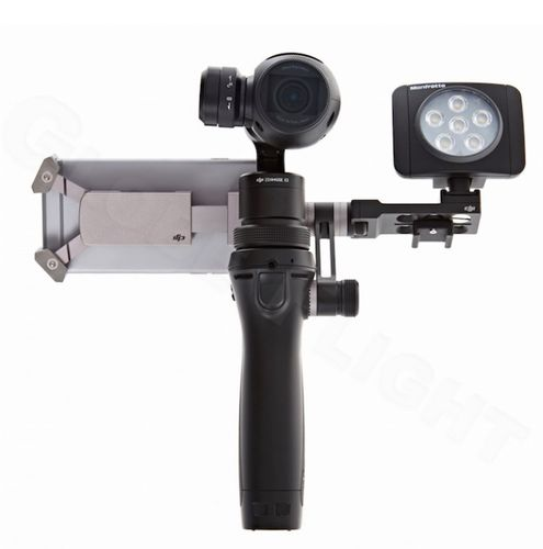 Manfrotto Lumi led DJI OSMO