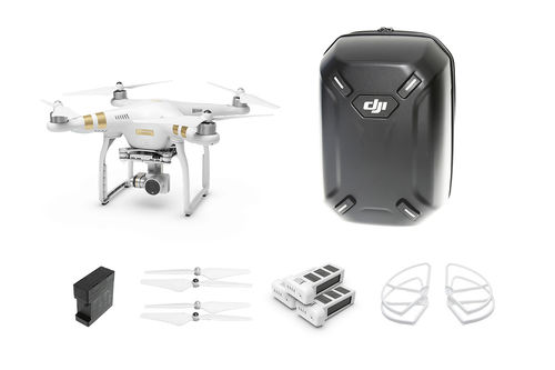 Phantom 3 Professional Everything You Need Kit (Hardshell Backpack) 4 Batt