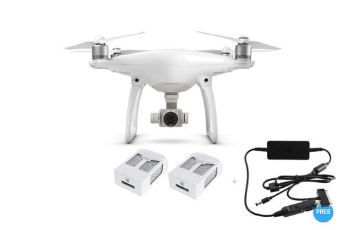 Phantom 4 + Two Extra Batteries