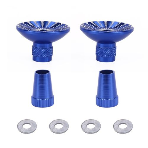 Extension de Stick 2pcs CNC Aluminum Thumb Rocker Joystick Lever for Phantom 4/3/2 Inspire 1 Blue