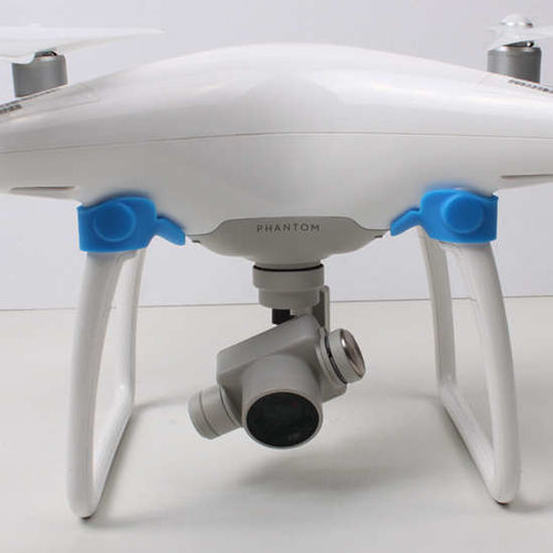 DJI Phantom 4 Front Visual System Camera Protector Cover Blue color