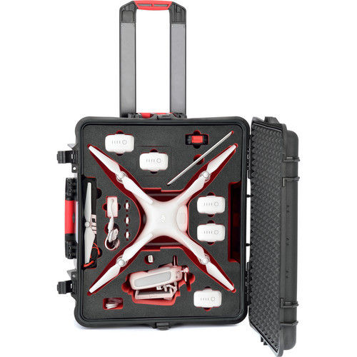 Hard Case with Wheels for DJI Phantom 4 / Phantom 4 Pro / Phantom 4 Pro+