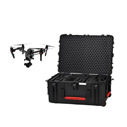 DJI Inspire2 Case profesional LANDING MODE with well