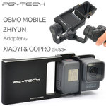 Adapter for DJI Osmo Mobile zhiyun Gopro Hero 5 4 3 + xiaoyi accessories switch mount plate gimbal