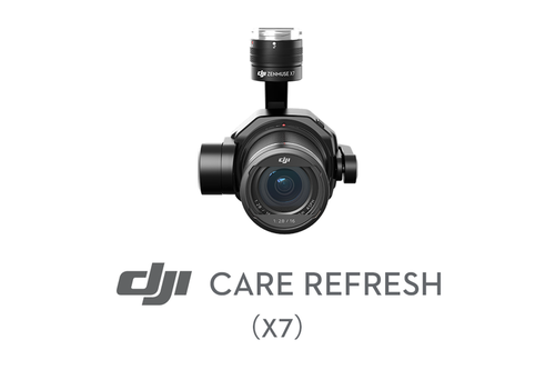 DJI Care Refresh (Zenmuse X7) Plan 1 año