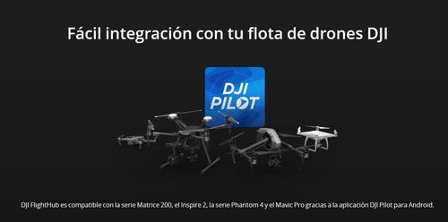 DJI FlightHub Licencia Advanced Mensual