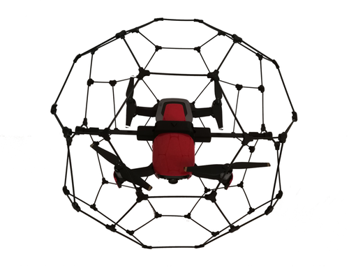 Protective cage for industrial inspection in confined space Mavic Air without led