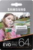Samsung EVO MicroSd 64Gb with Sd adapter